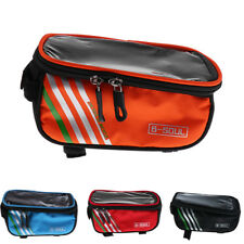 "Bike Bag 5.5""Touch Screen Portable Road Mountain Bicycle Panniers Cell Phone"
