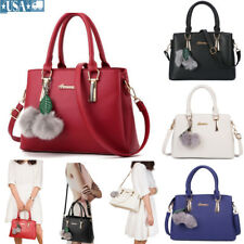 Hot Women's  Large PU Handbags Messenger Hobo Shoulder Crossbody Bag Tote Purse