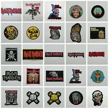 Iron Maiden Patch Sew Iron On Embroidered Rock Band Heavy Metal Free Shipping
