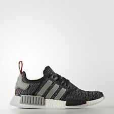 Adidas BB2884 NMD R1 Nomad Women Running Shoes Gray/Red/Black