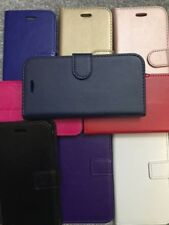 NEW FLIP WALLET PU LEATHER BOOK CASE COVER FOR For Apple iPhone MODEL