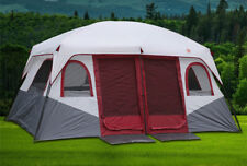 Large Family Camping Waterproof Cabin Outdoor Tent For 8-12 Person Double Layer