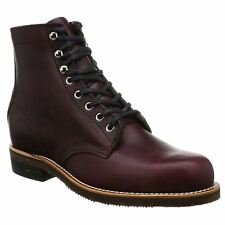 Chippewa 1939 Original Service Burgundy Mens Leather Ankle Boots