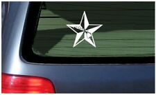 Nautical Star with Hawaiian Islands sticker car window fun Hawaii mariner decal