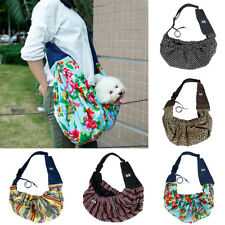 Pet Sling Carrier Bag Travel Pouch For Small Pet Dog Cat Shoulder Carry Tote