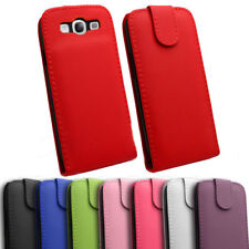 HQ Leather Pouch Flip Case Cover With Magnetic Closure Samsung Galaxy S3 SIII UK