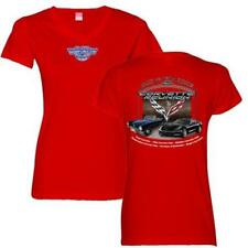 2017 8th Corvette Reunion @ BACK TO THE BRICKS Ladies' T Shirt RED SIZE 2XL *NEW