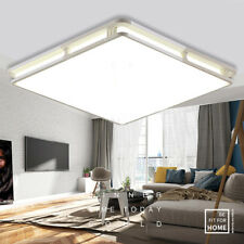 Holmark 24W Square LED Ceiling Light Fixture Modern Lamp Living Room Bedroom