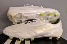 ADIDAS F50 ADIZERO TRX FG LEATHER WHITEOUT FOOTBALL BOOTS CLEATS SOCCER