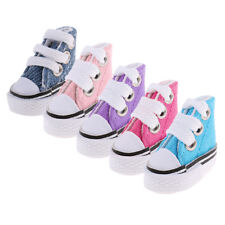 High Top Lace Up Fashion Canvas Shoes Sneaker Shoes for Barbie Doll Dress up