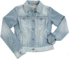 NEW! Wrangler Size S OR L Ladies Womens Acid Wash Jean Jacket Denim #LWJ303D  C