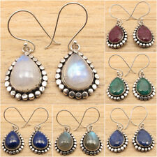 925 Silver Plated OLD STYLE Earrings ! Handmade Jewelry Wholesale Price
