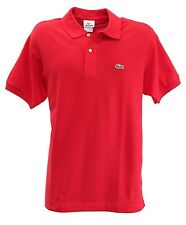 *New* LACOSTE Short Sleeve Classic Pique Men's Polo Shirt Size 5