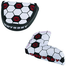 Odyssey Soccer Headcover - New Golf Club Football Cover Mens Womens Blade Mallet