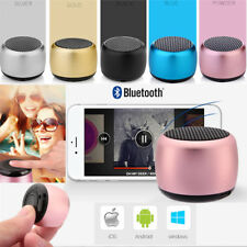 Mini Portable Bluetooth Speaker Huge Voice Built-in Mic Selfie Remote Shutter US