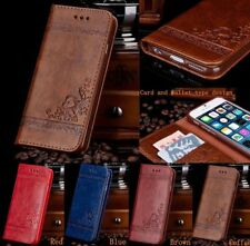 Leather Flip Wallet Phone Case Cover Stand for iPhone 7 6 6SPlus Samsung Note GK