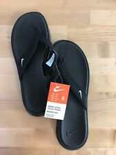 Nike Ultra Celso Thong Women's Black Flip Flops - Sizes 6-11 Available