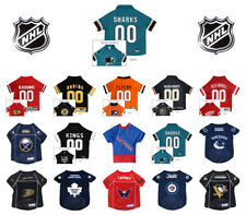 NHL DOG JERSEYS * Pick Your Team * Hockey Team Puck Pet Puppy Sports Fan Shirt