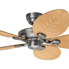 """NEW Hunter Outdoor Elements II 54"""" Ceiling Fan with Wide Leaf Blades"""