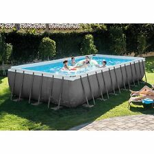 Intex Swimming Pool Bundle Set With Saltwater System Filter Pump Equipment Parts