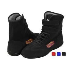 Speedway Hightop Racing Shoes SFI .5 Flexible Leather