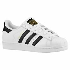 Adidas Superstar White Black Boys Girls Youths Trainers Sneakers