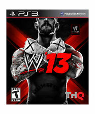 WWE '13 (Sony PlayStation 3, PS3) - DISC ONLY