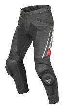 Dainese Delta Pro C2 Perforated Mens Leather Pants Black/Black