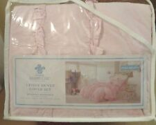 Simply Shabby Chic Soft Pink Ruffle Duvet Cover & Sham Set  Full/Queen  or  King
