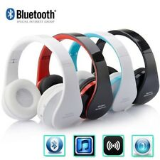 Wireless Bluetooth Foldable Headset Stereo Headphone Earphone for Phone Tablet