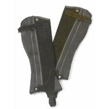 Ovation Ladies Suede Ribbed Half Chaps with Dirt-Resistant Zipper