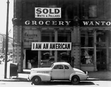 Dorothea Lange Oakland CA I Am An American Giclee Reproduction Print 4x5 - 40x50