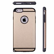 Slim Shockproof Hard Back Phone Case Cover for Apple iPhone 6plus /6s plus Gold