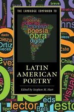 Cambridge Companion to Latin American Poetry by Edited By Stephen Ha Paperback B