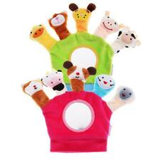 Cute Finger Animal Puppets Cartoon Plush Cloth Toys Doll For Baby Creation