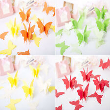 1PC 3M Garland Tissues Butterfly Banners Party Home Room Decor Wedding Favors