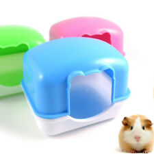 Hamster Mouse Gerbille Pet Bedroom Cage Box Activity Room Hamster Mice Bed Toy