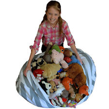 Sit Storage Bean Bag Chair Stuffable Kids Toys Stuff Clean up Your Kid's Room