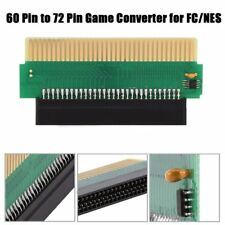 60 To 72 Pin Adapter Converter Connector Fr Nintendo FC Famicom to for NES LOT S