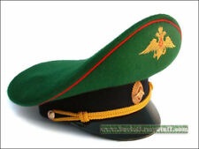 Russian Army Border Guard Officer Uniform Visor Hat Peaked Hat