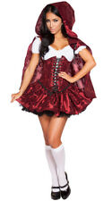 Womens Lusty Lil' Red Costume, Sexy Red Riding Hood Costume
