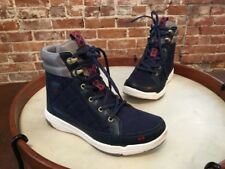 Ryka Navy Blue Water Resistant Aurora High Top Sneaker Ankle Boot NEW