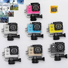 HD 1080P Waterpoof Sports Camera DV Helmet Action Bike Video Recorder Dash Cam