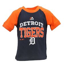 Detroit Tigers Official MLB Majestic Infant Toddler Size T-Shirt New with Tags