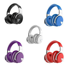 Wireless Bluetooth Over the Ear Headphones Headset Noise Cancelling Microphone