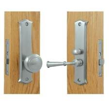 Solid Brass Classic Storm Door Latch w Mortise Lock [ID 1037352]