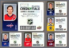 2017-18 MVP Player Credentials 1 & 2 *** PICK YOUR CARD *** From The Insert SET
