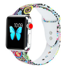 Silicone Sport Band Strap for Apple Watch iwatch Series 3/2/1 38mm 42mm,S/M Size