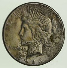 Early - 1926-S - Peace Silver Dollar - 90% US Coin *456