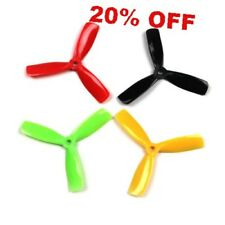 10 Pairs KINGKONG/LDARC 4*4.5*3 4045 4 Inch 3-Blade Propellers CW CCW for RC Dro